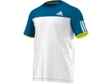 Áo Tennis Adidas Club White Blue (AX8149)