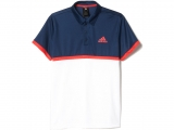 Áo Tennis Adidas Court Polo Navy White (AX8164 )