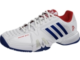 Giày Tennis Adidas Novak Pro White/Blue/Red (BA8013)