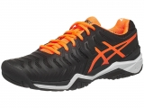 Giày Tennis Asics Gel Resolution 7 Bk/Or (E701Y-9030)