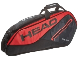 Túi Tennis Head Tour Team 2017 6R Black Red (283457)