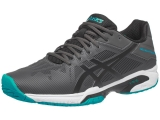 Giày Tennis Asics Gel Solution Speed 3 Gr/Bk/Bl (E600N-9590)