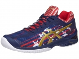 Giày Tennis Asics Gel Court FF L.E. Navy/Red (E714N-4994)