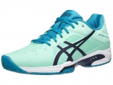Giày Tennis Asics Gel Solution Speed 3 Sea/Aqua (E650N-6749)
